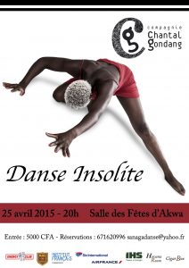 tract:affiche Danse Insolite